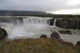 Godafoss_097_08132021 - Looking across the full width of Godafoss with an additional tier to the far right