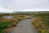 Godafoss_107_08132021 - Looking back towards the overlooks of Godafoss on the east side of Skalfandafljot