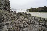 Godafoss_109_08132021 - Amongst the rocky base fronting the east bank of Godafoss