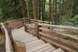 Goldstream_Falls_007_08032017 - Going down the steps towards the creek and Goldstream Falls