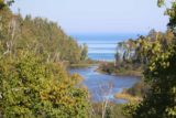 Gooseberry_Falls_006_09272015 - Looking out in the distance towards the mouth of the Gooseberry River as it drains to the vast Lake Superior