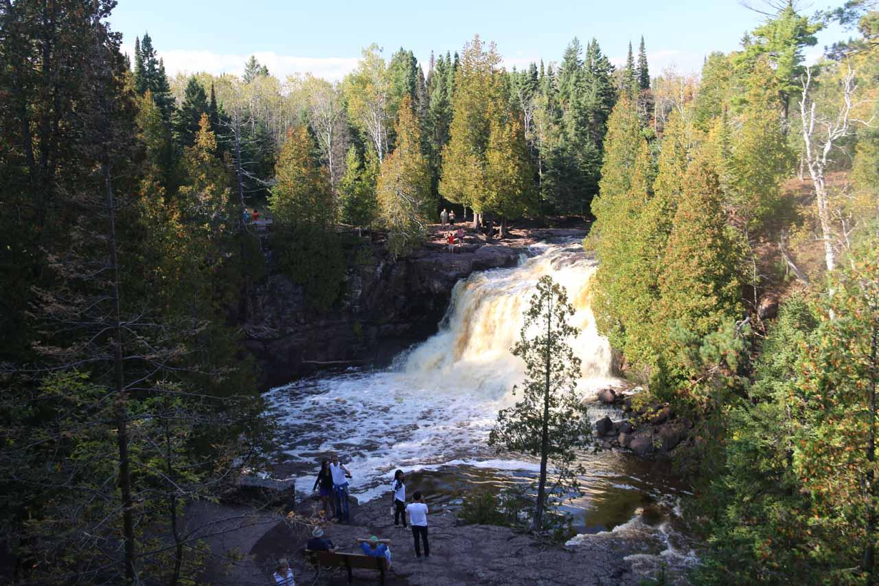 The Upper Gooseberry Falls