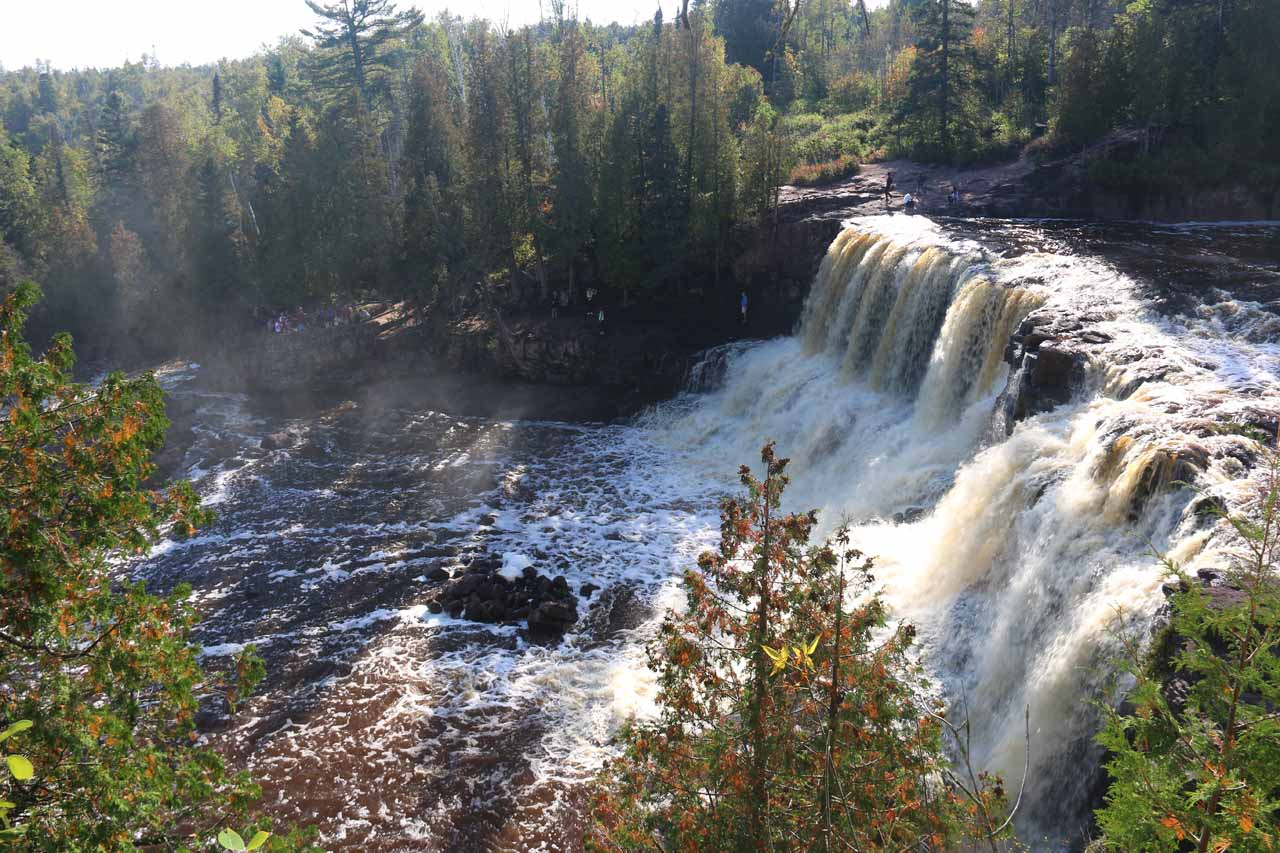 The Middle Gooseberry Falls