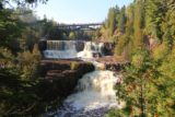 Gooseberry_Falls_061_09272015 - View of both Middle and Lower Gooseberry Falls from perhaps the most photogenic lookout