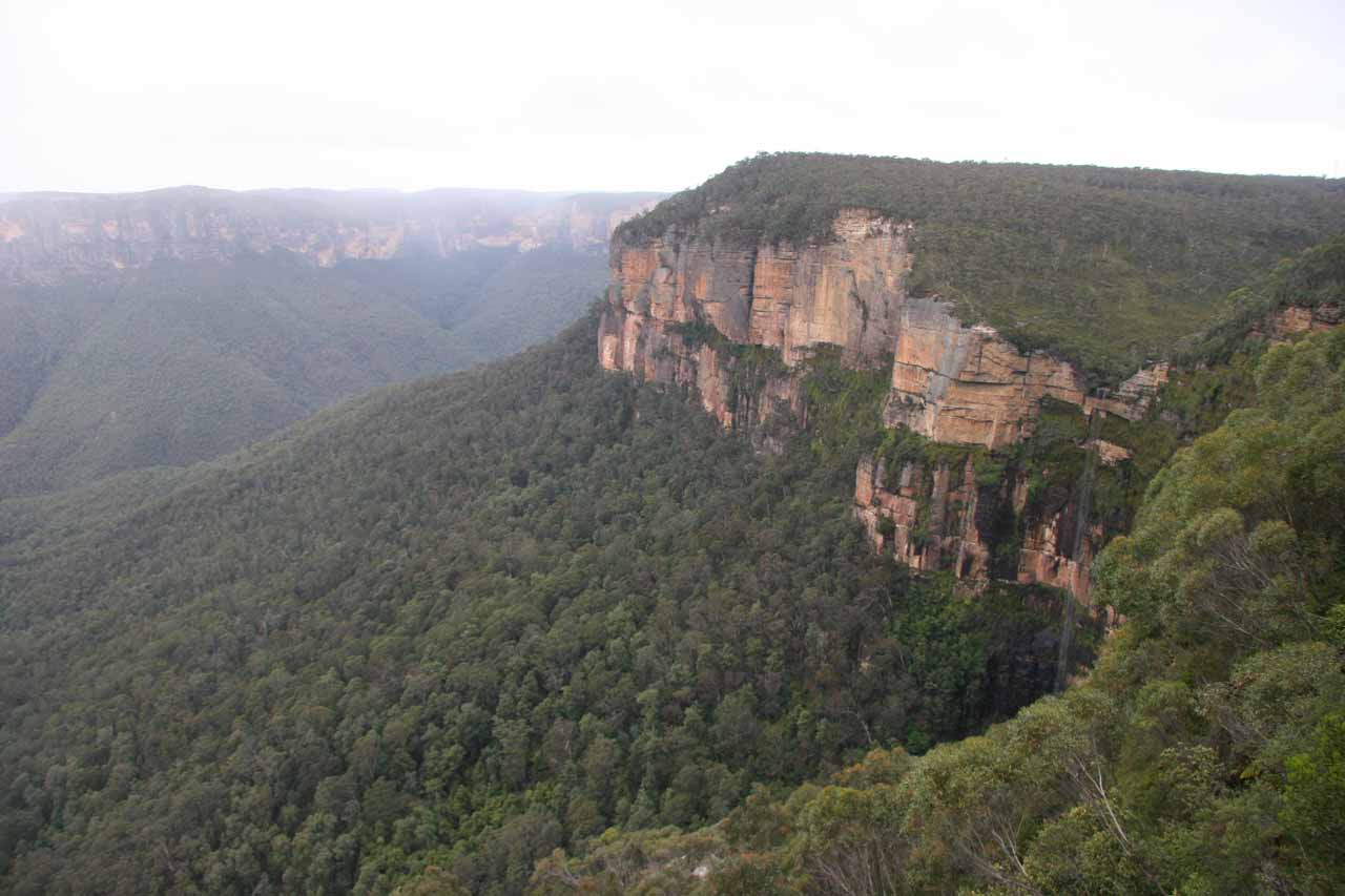 Bridal Veil Falls at Govett's Leap