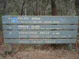 Govetts_Leap_014_jx_11042006 - Signs telling us how far some of the tracks were.  We took the short one to Horseshoe Falls