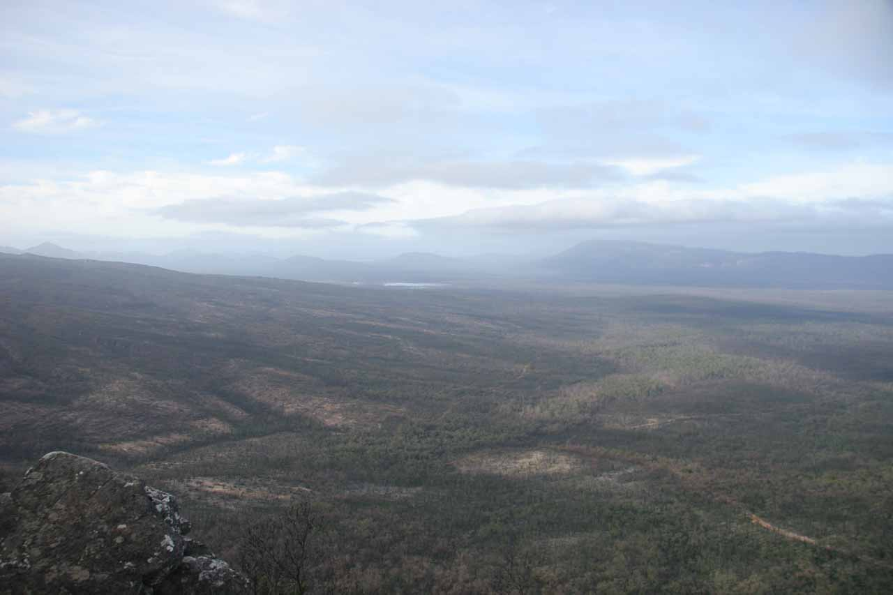 After visiting Trentham Falls, we continued further to the west towards Grampians National Park, where we could clearly see the effects of drought and wildfires