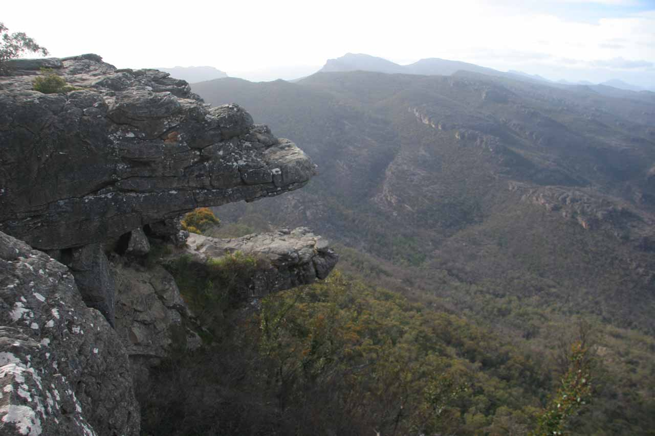 On the way to MacKenzie Falls, we passed by a stop called the Balconies, which also offered some really neat panoramas of the general Grampians area