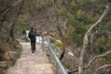 Grampians_066_11132006 - Julie on the walking path going to the base of the MacKenzie Falls during our November 2006 visit