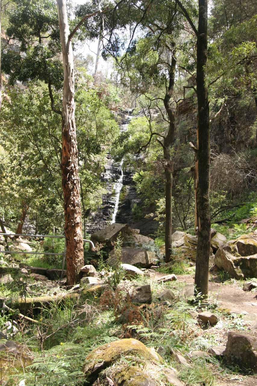 Finally approaching Silverband Falls