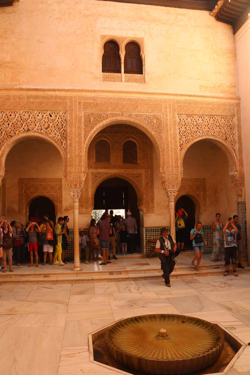 Another look at one of the elaborate rooms in Palacios Nazaries that resembled places in Morocco that we had visited