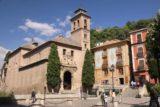 Granada_266_05272015 - Looking towards the Iglesia de Santa Ana at the Plaza Nuevo again