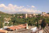 Granada_297_05272015 - Looking over rooftops towards the Alhambra from Mirador de San Nicolas