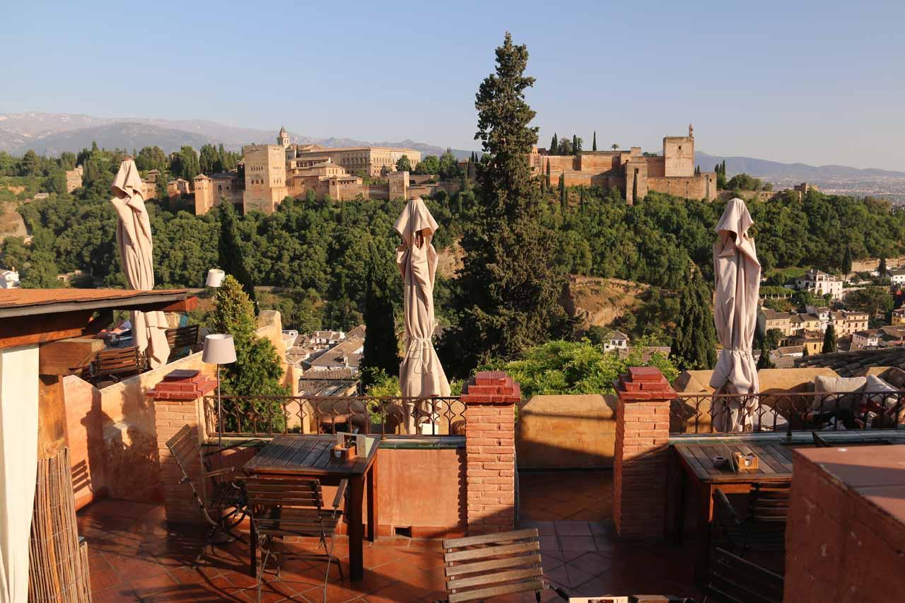Looking towards Alhambra from El Huerto de San Ranas