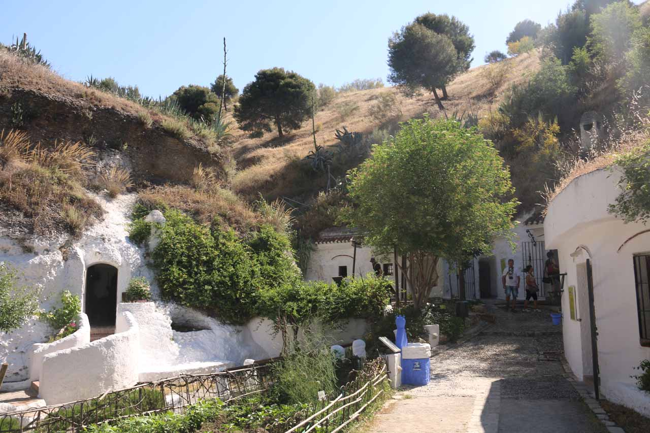 Looking back at the context of some of the rooms that we had visited at Sacromonte
