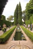 Granada_831_05282015 - Strolling amongst the elaborate ponds and gardens leading to Generalife