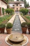 Granada_902_05282015 - A nice view of the length of the fountains and basin at Generalife
