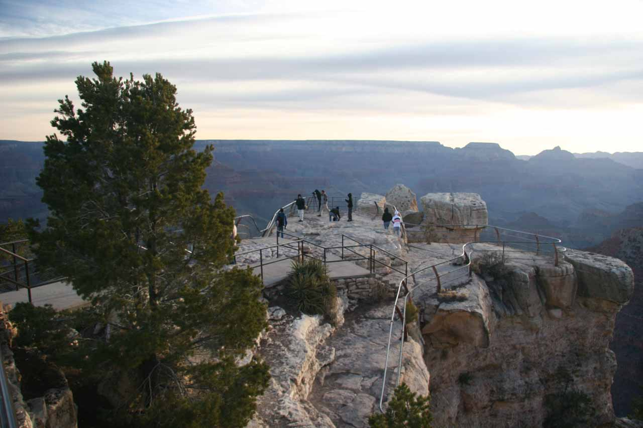 The Mather Point Overlook