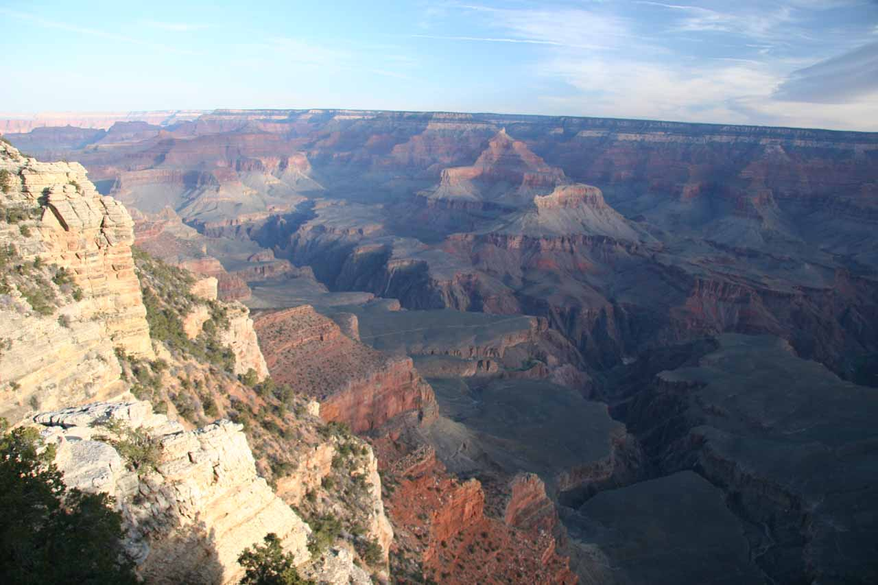 Morning at Mather Point