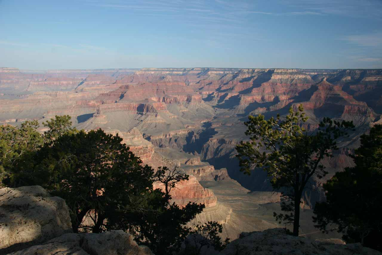One of several overlooks at the Grand Canyon's South Rim