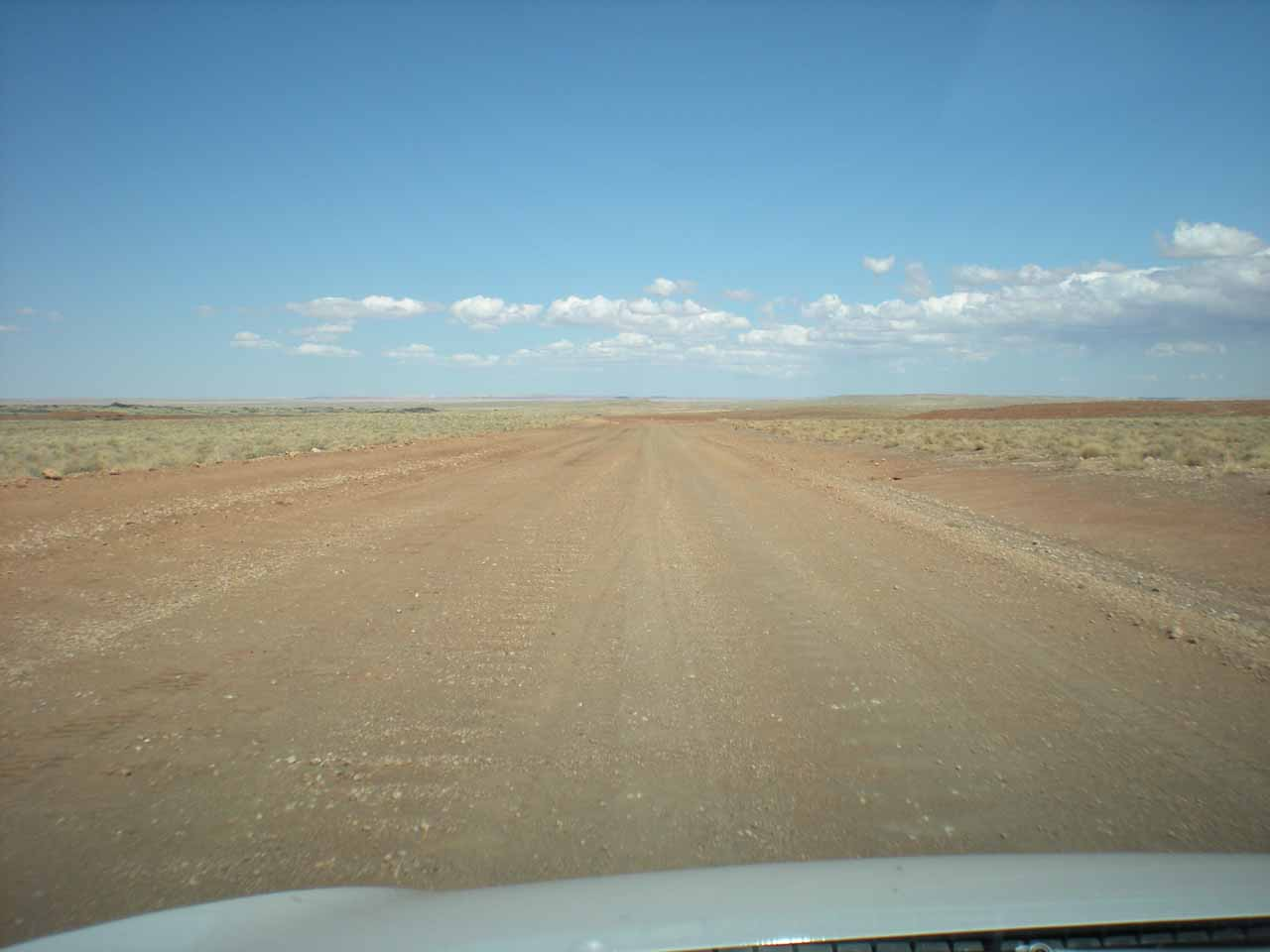 Road through nothingness