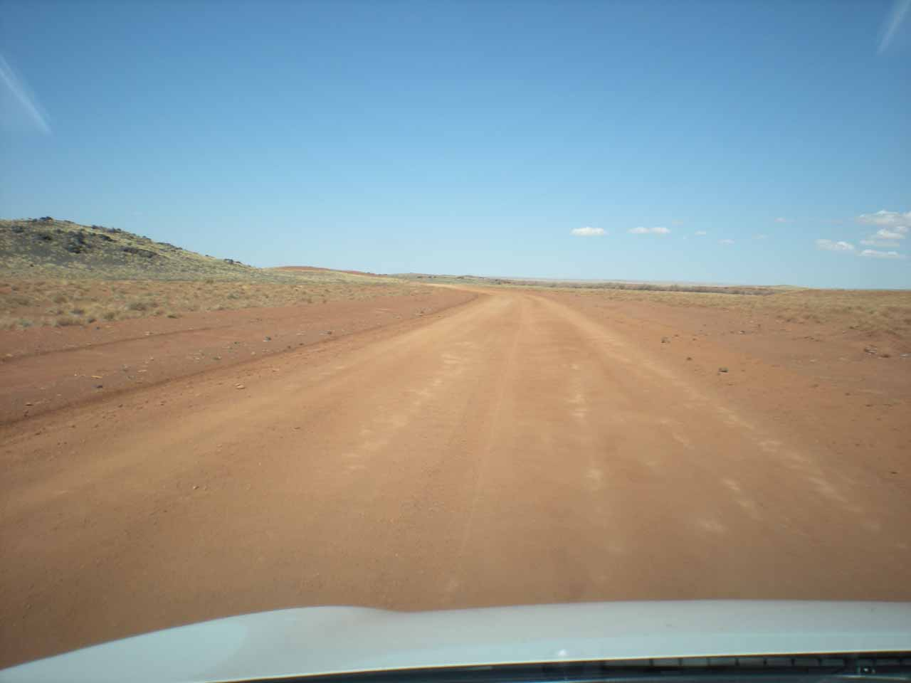 Now on some unpaved roads in Navajo Reservation land.  Not a good place to get lost