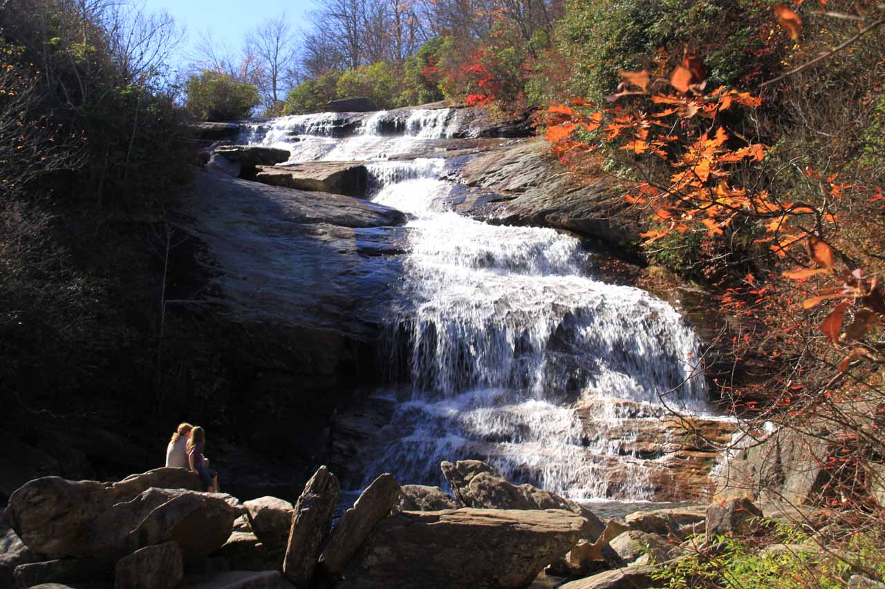 Second Falls or Lower Falls in the Graveyard Fields