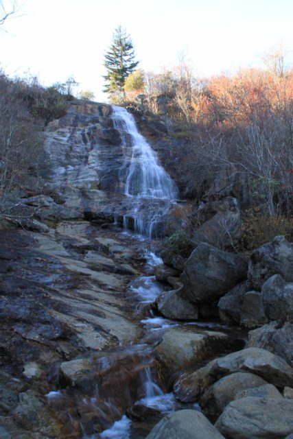 Graveyard_Fields_041_20121017 - The Upper Falls in the Graveyard Fields Loop Hike