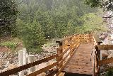 Grawafall_046_07202018 - This was the misty footbridge going across the Sulzbach Creek right in front of the Grawa-Wasserfall