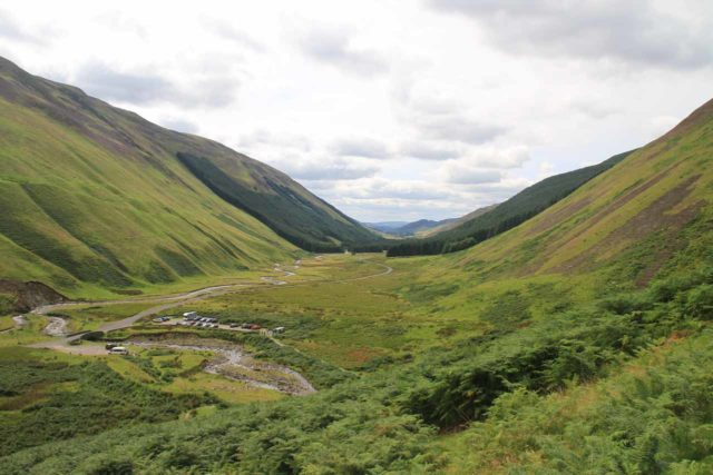 Gray_Mares_Tail_059_08202014 - View of Moffat Valley from the Loch Skeen Trail