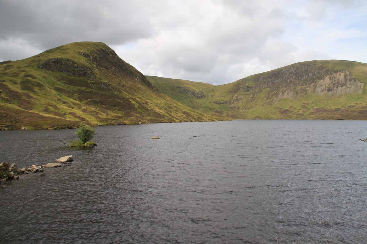 Finally at the southern shores of Loch Skeen