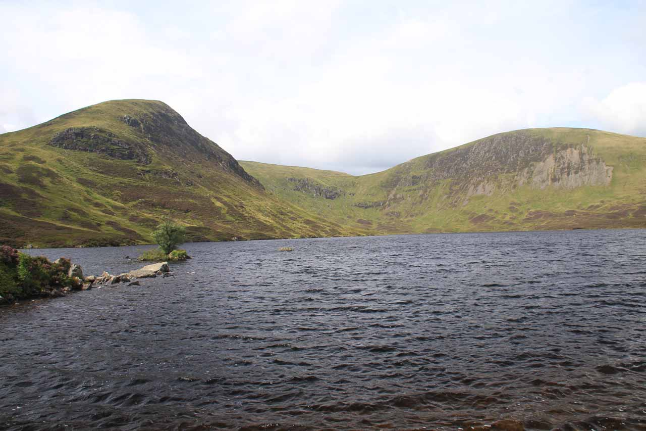Last look at Loch Skeen as the waters got choppier thanks to the sudden breeze