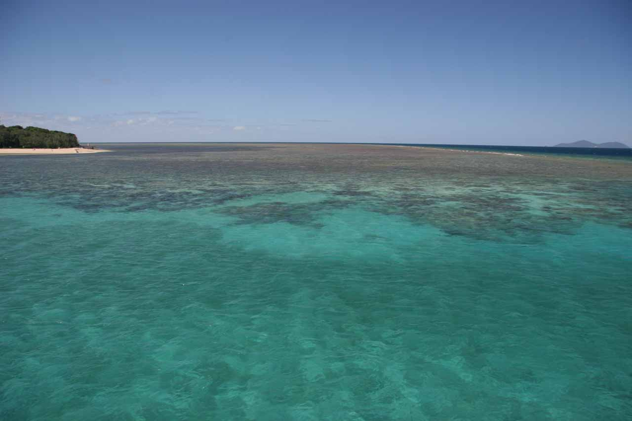 Further to the northeast of Dinner Falls back towards the coast was the town of Cairns, which was the gateway to the Great Barrier Reef