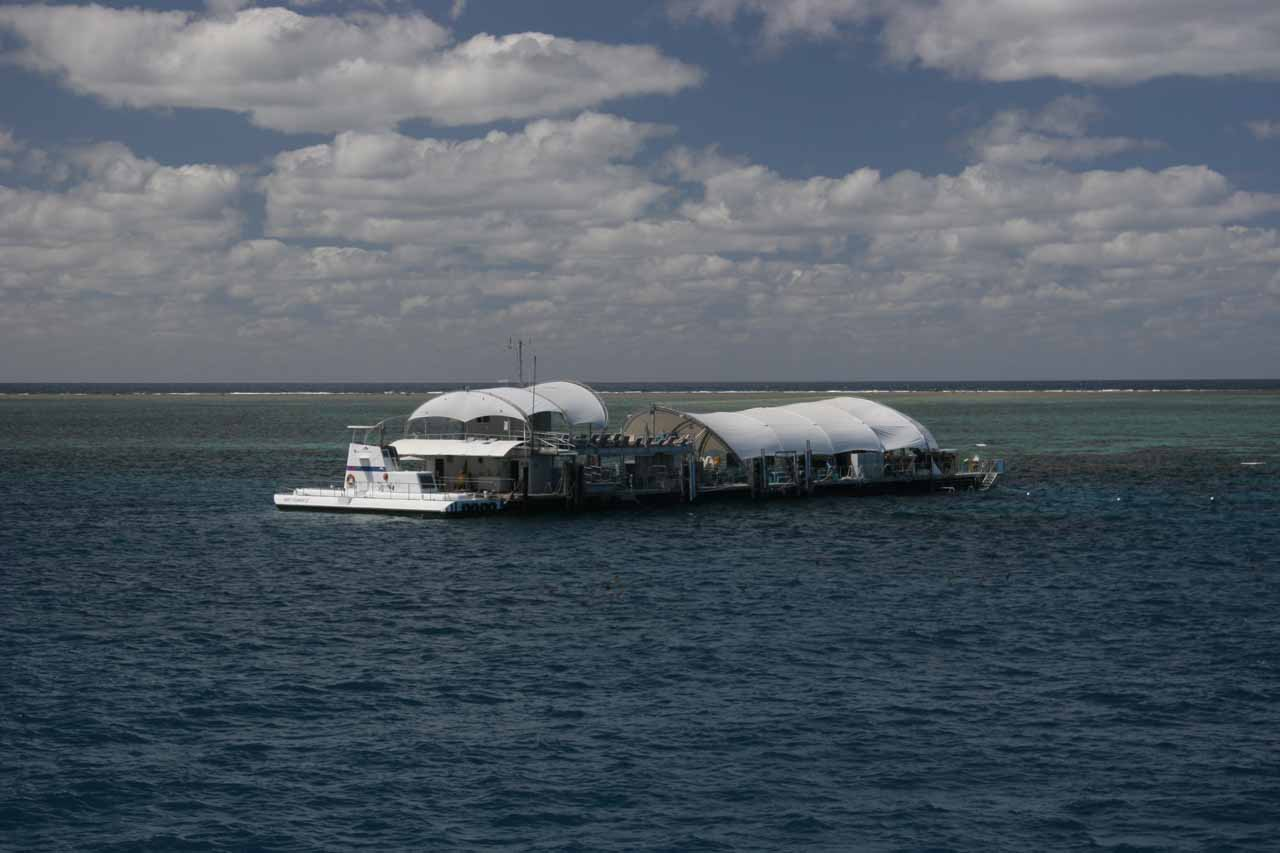 The Outer Reef Pontoon