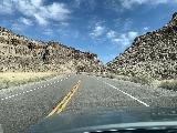 Great_Basin_Hwy_007_iPhone_04012021 - Driving through some canyons on the Great Basin Highway through the length of Nevada