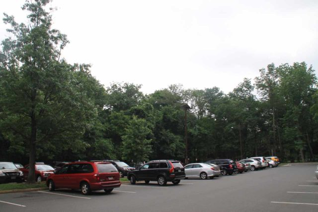 Great_Falls_Park_001_06112014 - The parking lot for the Great Falls Park on the Virginia side, which was pretty busy even for a Wednesday morning