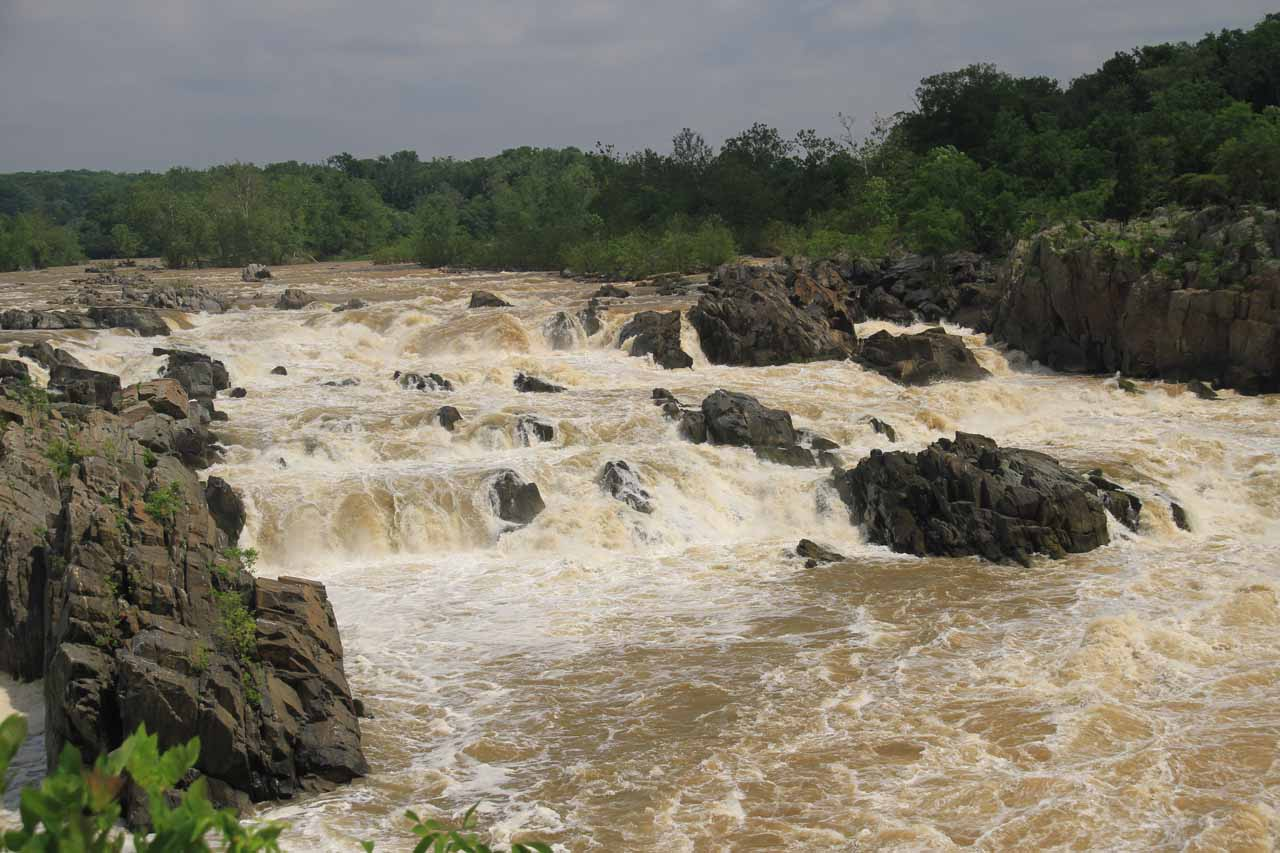 View of Great Falls from the Overlook 2