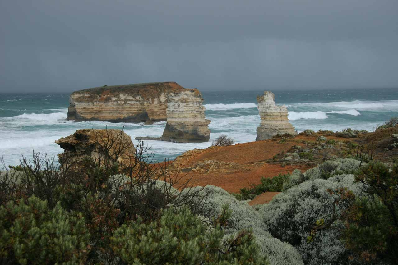 As we went east of Warnambool, the rugged seas and battered coastlines started to get more dramatic the further we went