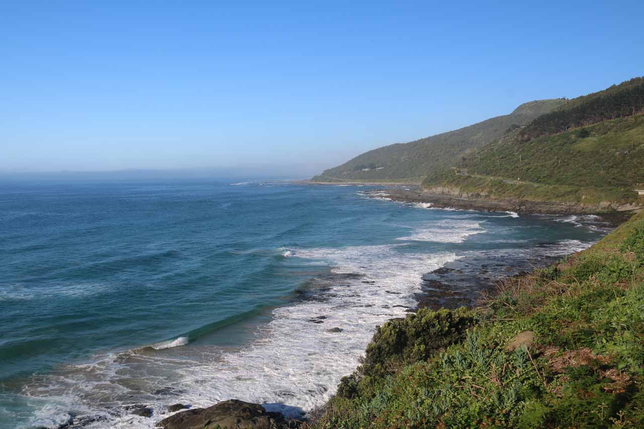 The beautiful scenery along the Great Ocean Road, especially between Apollo Bay and Lorne, was full of photogenic spots to randomly stop and take in