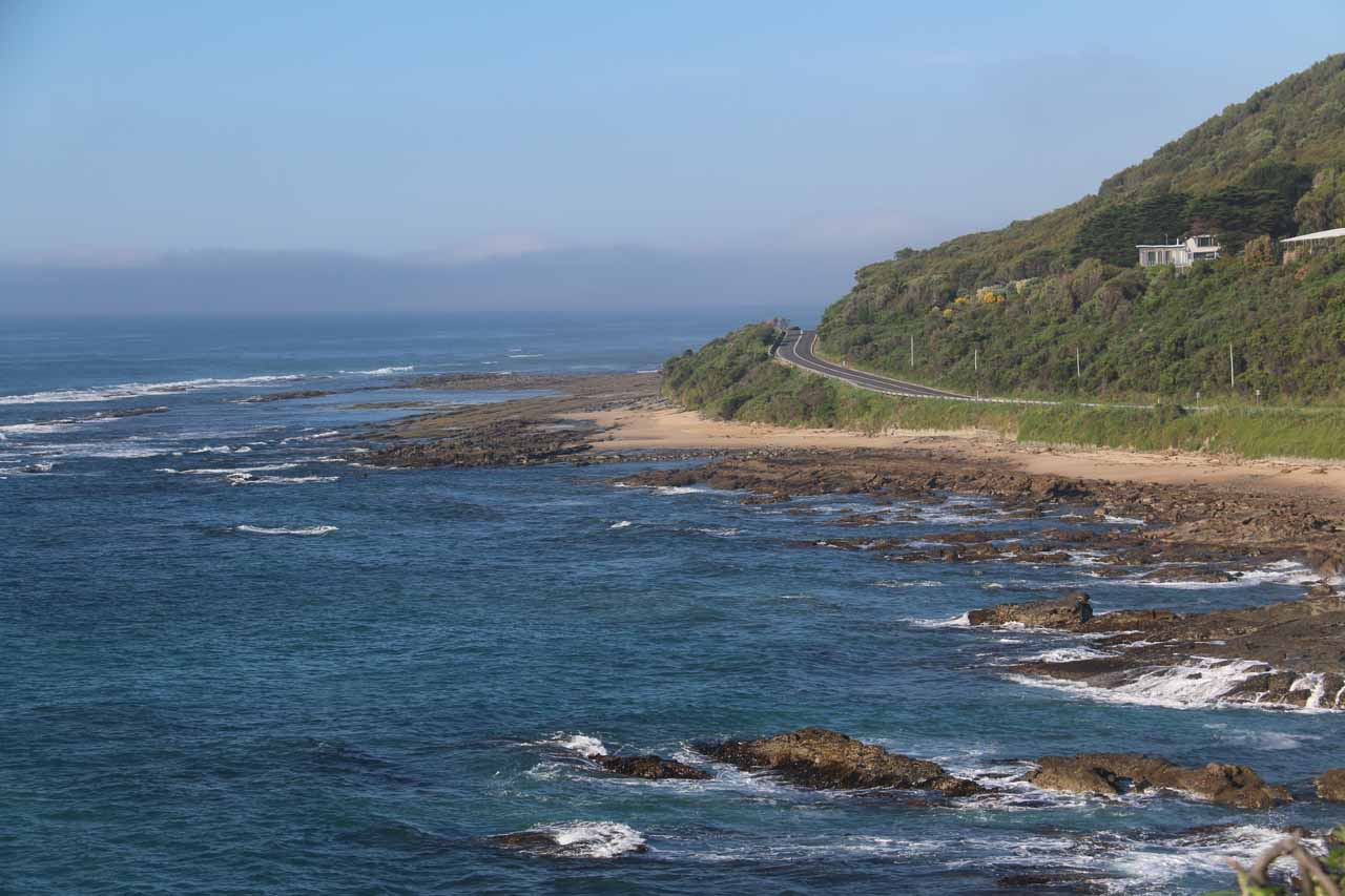 The Great Ocean Road between Lorne and Apollo Bay was a very scenic stretch where it was very easy to randomly pull over and get the kind of coastal views you see pictured here