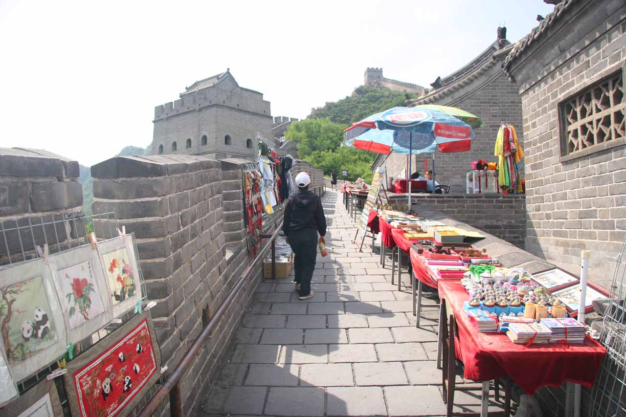 Hawkers on the Great Wall
