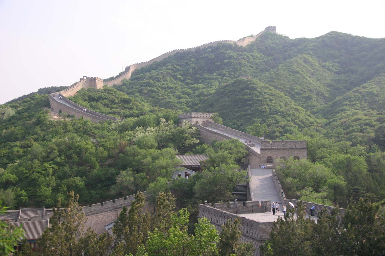 Looking back in the other direction at the Badaling section of the Great Wall