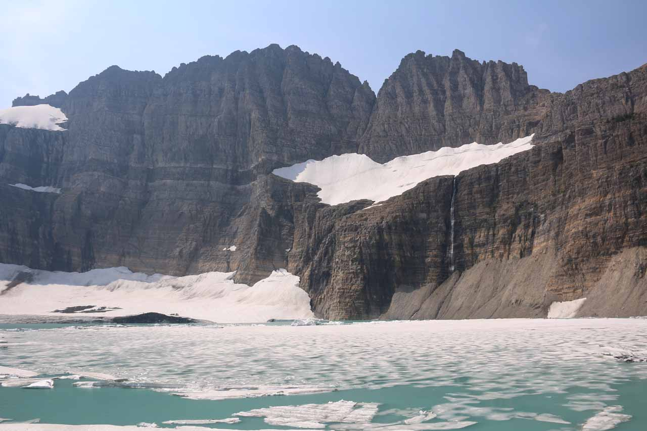 Finally arriving at the Grinnell Glacier Overlook