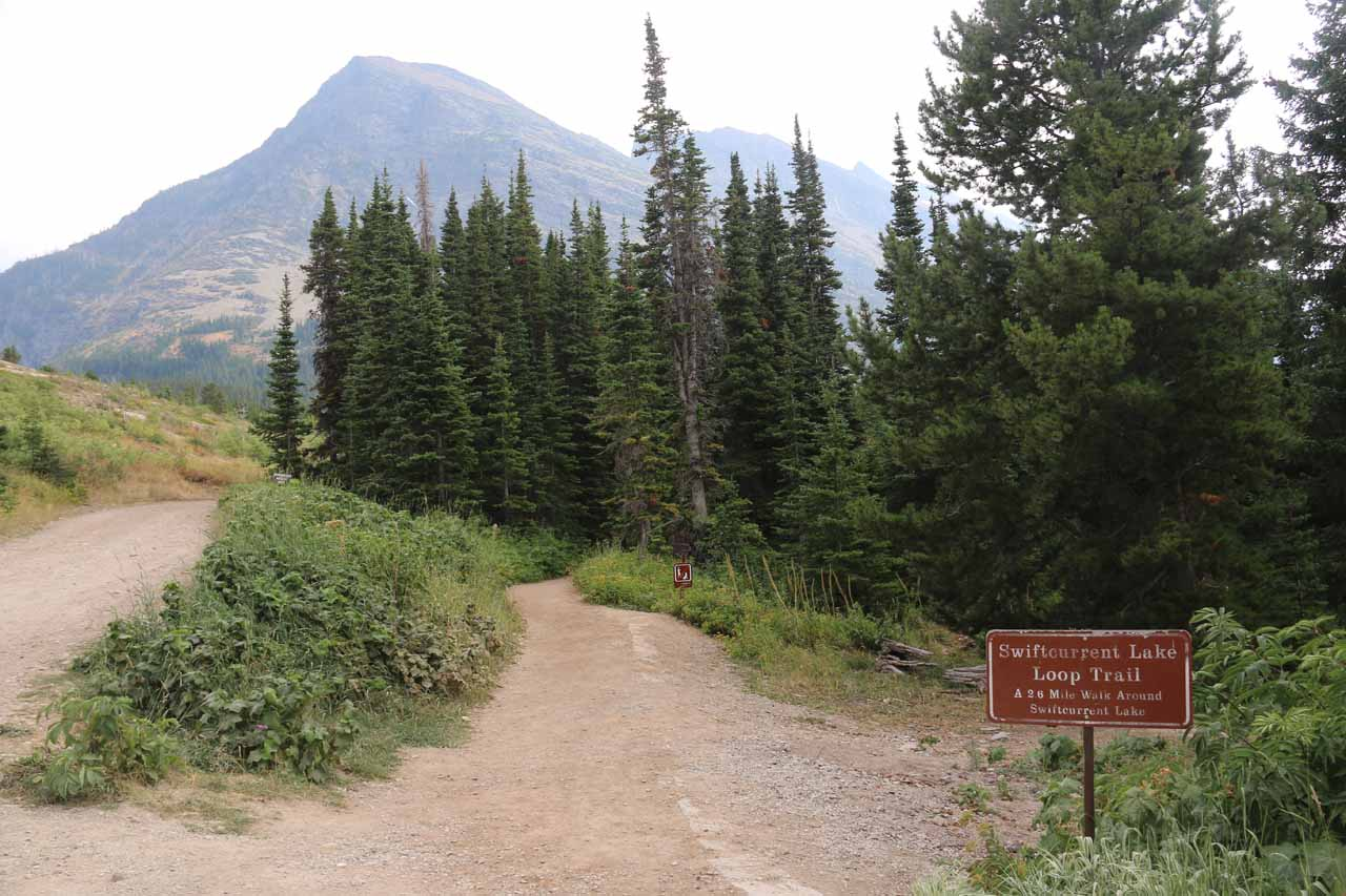 Finally making it back to the Swiftcurrent Lake Loop Trailhead by the Many Glacier Hotel, thereby ending the nearly 10 miles of epic hiking