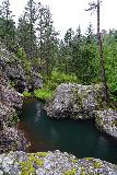 Grizzly_Bear_Falls_066_07302020 - Looking downstream at the pool fronting the small cascade on Grizzly Bear Creek
