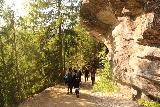 Gronligrotta_012_07092019 - Walking towards the Gronligrotta entrance
