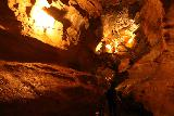 Gronligrotta_043_07092019 - Looking further down in the lit up cave at the Gronligrotta