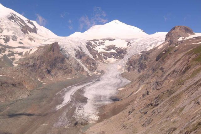 Grossglockner_236_07122018 - The main highlight of the Grossglockner High Alpine Road was the Grossglockner Peak and the Pasterze Glacier (shown here)
