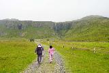 Grundarfoss_019_08172021 - Tahia catching up with Mom as we were on our way closer to Grundarfoss