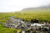 Grundarfoss_050_08172021 - Looking back at the stream where we had to cross the stream to continue to Grundarfoss